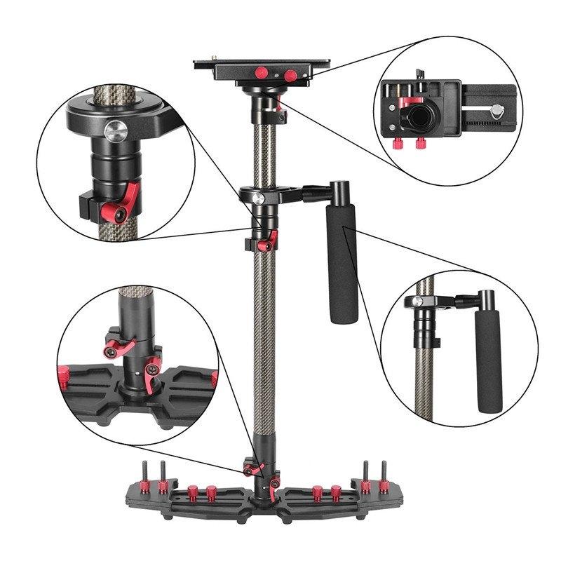 W & 5 HD2000 stabilizátor pro fotoaparáty a videokamery SLR DSLR 7D 600D 700D D5200 D3200 atd..
