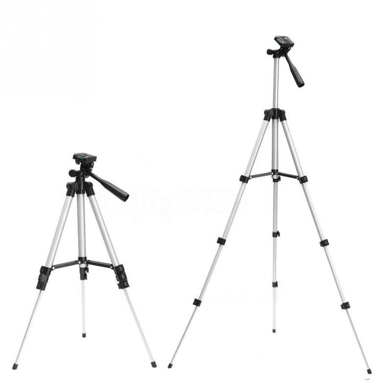 Profesionální teleskopický hliníkový stativ pro digitální fotoaparát, videokameru, iPhone, Samsung, Xiaomi a další