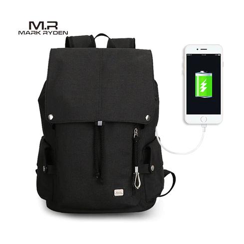 6ac3cd88cf2 Mark Ryden Mark Ryden Velkokapacitní vodotěsný batoh pro studenty s USB  Barva 1