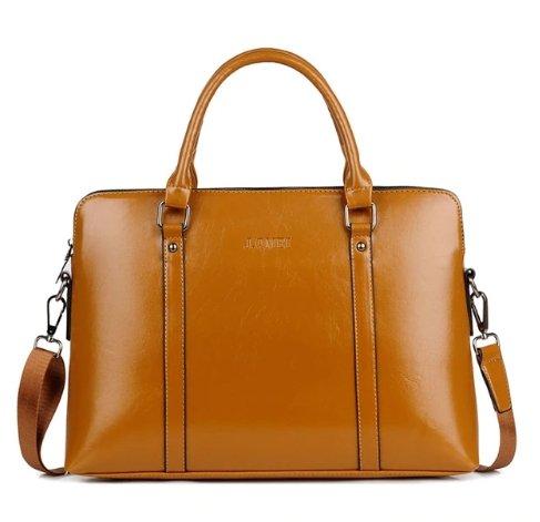 ebdfa174b9 Vysoce kvalitní PU kožená taška na notebook Barva 2 Velikost 15
