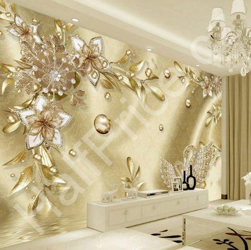 Tapeta Na Zeď Luxusní 3d