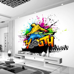 Tapeta 3D ART Graffiti